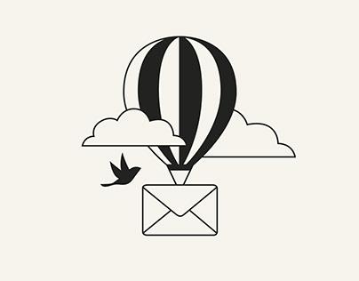 Send Message Illustration