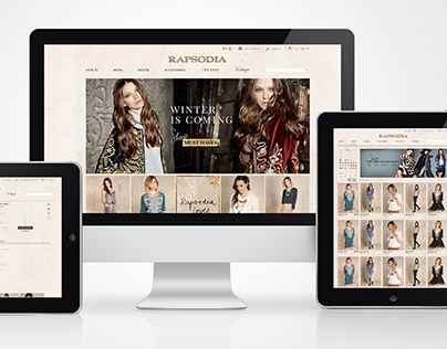 Rapsodia Online Store