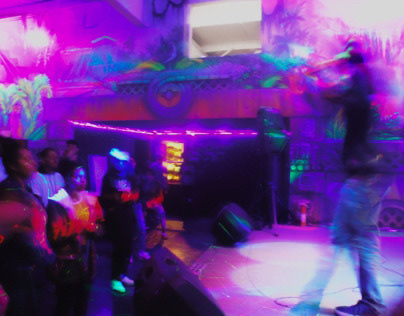 a PSYCHEDELIC rap show (Photography)