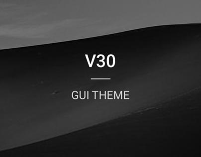 LG V30 Theme Design