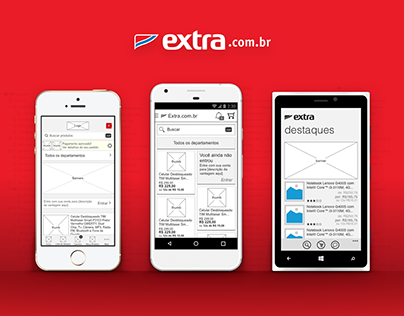 Extra.com.br - Information Architecture
