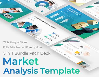 Market Analysis Powerpoint Bundle