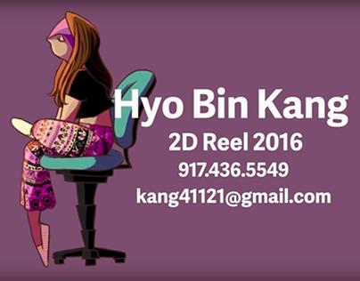 Demo Reel + Portfolio 2016 - Hyo Bin Kang