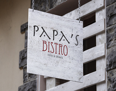 Papas Bistro Alaçatı Logo