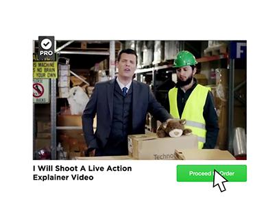 Fiverr - Live Action Explainers & Short Video Ads