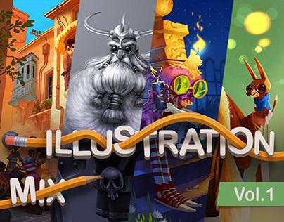 ILLUSTRATION MIX   Vol. 1