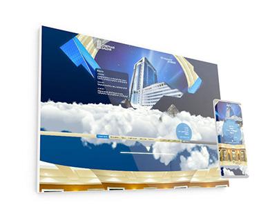 Дизайн сайта для Северной башни в Москве