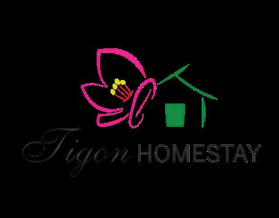 Tigon Homestay - Logo design
