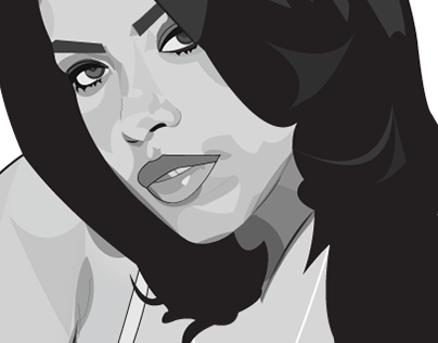 Aaliyah Illustration Submission