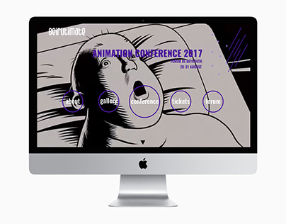 Animation Conference Website