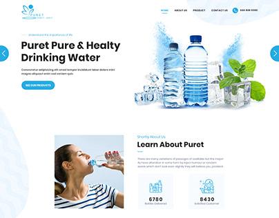 Leadgen website for a bottle selling company (B2B)