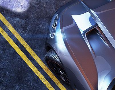 Maserati CGI