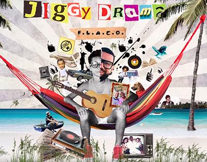 Cover Animado - Jiggy drama, Flaco album