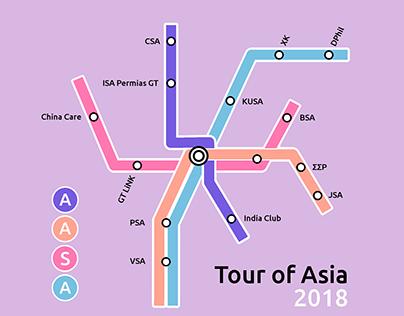 Tour of Asia 2018