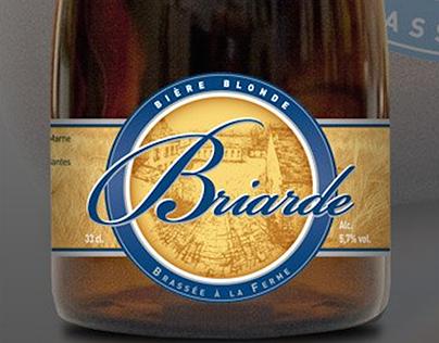 Briarde // habillage bouteille bière