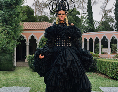 BLACK IS KING by Beyonce (Mood 4 Eva) costume design