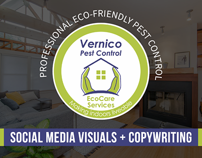 Vernico Pest Control Visuals + Copywriting