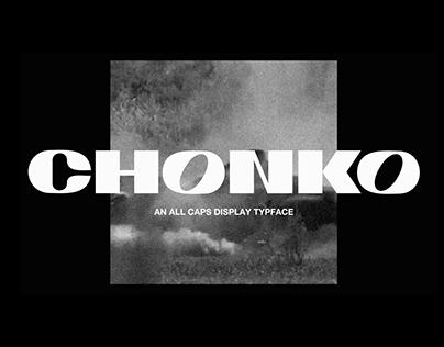 CHONKO DISPLAY