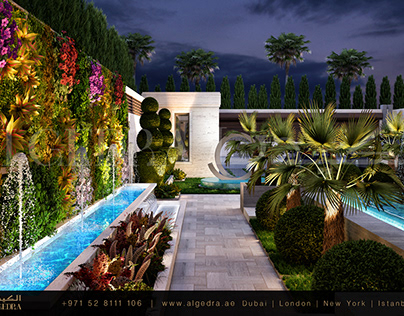 Luxurious Landscape Design by ALGEDRA