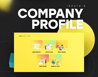 Company Profile Design 2018