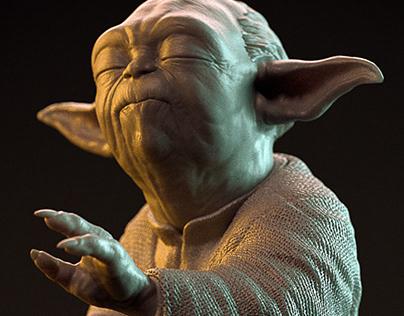 Master Yoda - 3D Print Project