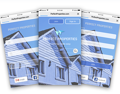 Perfect Properties Web app