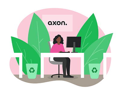 Website Illustrations   Axon Profil