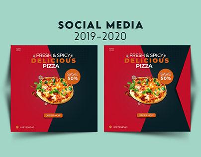 social media 2019-2020