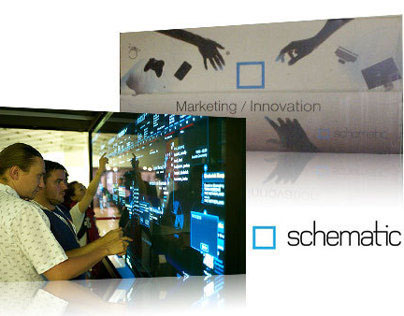 Cannes Lions Schematic Touchwall
