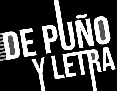 """Suplemento Literario """"De Puño y Letra"""" 2019"""