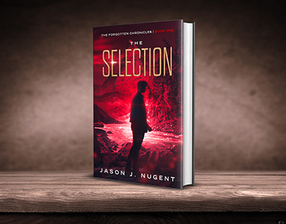 The Selection book cover design