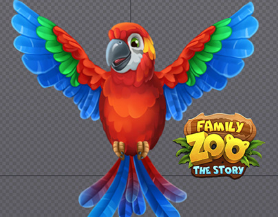 Animation of ParrotforFamily Zoo: The Story
