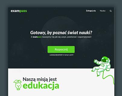 Webdesign - Online Education Platform