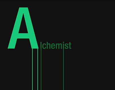 The Alchemist - Textual Visualisation