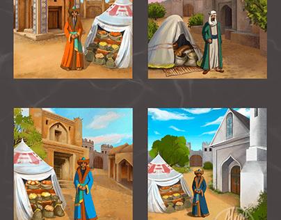 "Afanasy ""Voyage"" - mobile game"