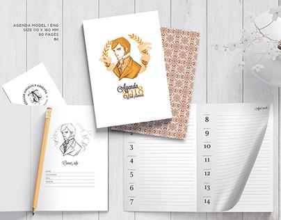 Agendas y cuadernos 2018, Atelier Angelica Absenta