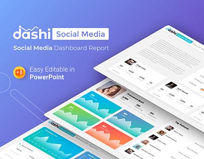 Dashi Social Media – Dashboard Report Presentation