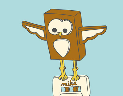 Mike Doughty Owl Illustration
