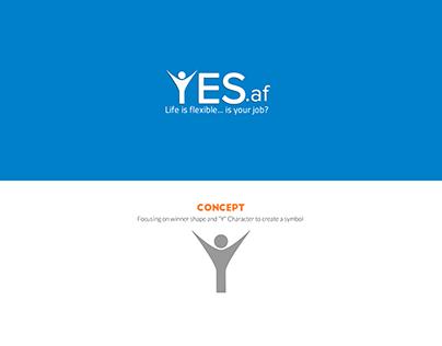 Yes.af - Logo Design