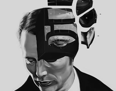 Hannibal: Phrenology Bust
