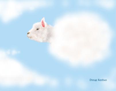 Cloud lamb