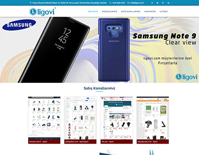 ligovi Mobile Phone Accessories Web Site