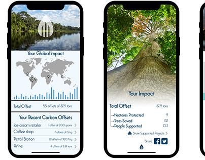 Poseidon Mobile App Mockups
