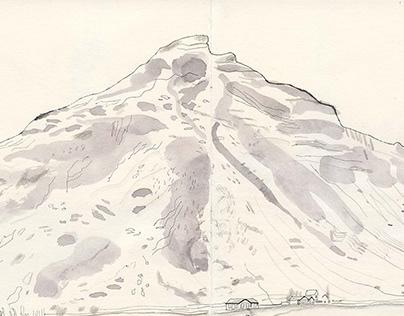 Iceland drawings