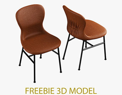 *FREE 3D MODEL * Fogia Myko Chair