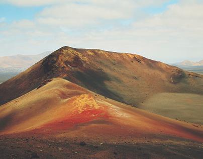 Montañas del Fuego, Lanzarote
