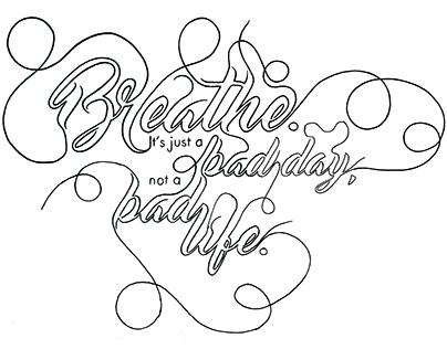 Hand-lettering (In Progress)