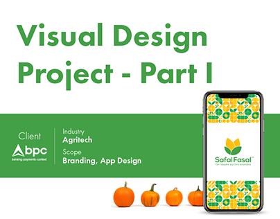 End-to-End Visual Design for an Agritech Startup-Part I