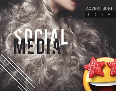 Social Media - advertising ♢ 2019 beauty salon