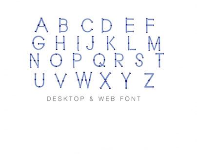Bamboo Monogram Font Desktop TTF Web